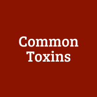The Usual Suspects: Common Toxins